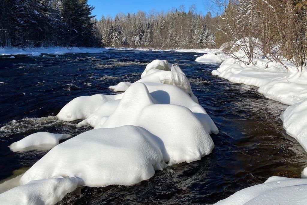 La rivière l'assomption au M Resort & Spa